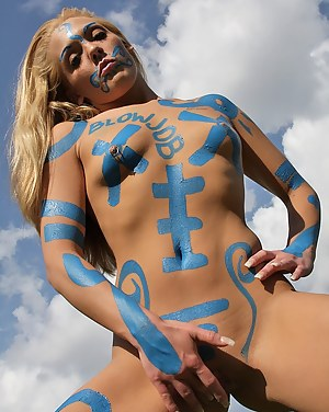 Free Teen Body Paint XXX Pictures